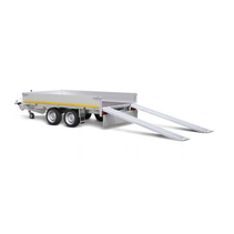 330x180 cm - 1500 kg - 30 cm borden - 56 cm