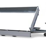 Eduard Geremde Eduard 3-zijdige kipper - 330x180 cm - 3000 kg bruto laadvermogen - elektrisch, extern laden - 72 cm laadvloerhoogte - inclusief oprijplaten & uitzetsteunen