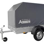 Anssems Anssems GT 750 bakwagen - 750 kg bruto laadvermogen - 251x126 cm laadoppervlak - ongeremd - inclusief voorgemonteerde huif