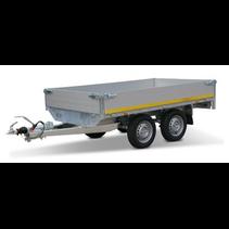 256x150 cm - 750 kg - 30 cm borden - 56 cm