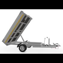 256x150 cm - 1350 kg - afstands/handp - 63 cm