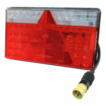 MultiLED 2 links - 5P connector - volledig LED