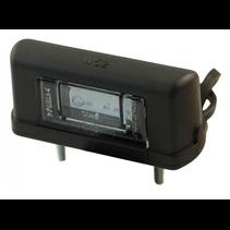 WAS 244 - kentekenv. - LED - DC connector