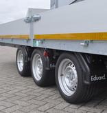 Eduard Geremde Eduard plateauwagen - 606x220 cm - 3500 kg bruto laadvermogen - 63 cm laadvloerhoogte - 30 cm borden - tridem asser