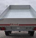 Eduard Achterwaartse kipper 310x160 cm - 2000 kg - handpomp - voorzien van 30 cm borden inclusief oprijplaten