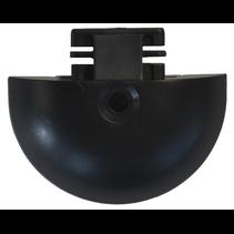 Insteekdop rond voor rails - 50x12 mm