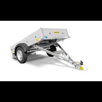Opvouwbare bakwagen  - 750kg - 205x109 cm