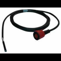 Radex connector/adapter rood 2 meter kabel