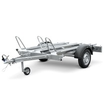 Motortrailer HM - 209x136 cm - 750 kg