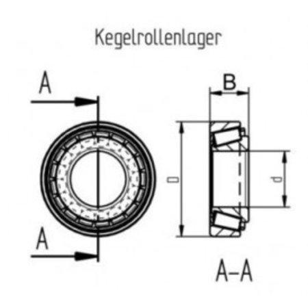 AL-KO Kegellagerset 1636/1637 (299056)