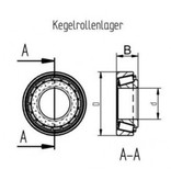 AL-KO Kegellagerset 2360/2361 (258313)