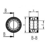 AL-KO Compactlagerset 2361 80mm (1224805)