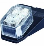 Aspock Aspock Flexipoint - wit - LED - 100 cm platte kabel - op houder