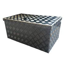 Disselkist aluminium XL (75x37,5x28,5 cm)