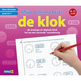 Boeken DT641006  - Mijn oefenschrift de klok (9-11jr)