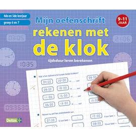 Boeken DT641007 -Mijn oefenschrift rekenen met de klok (9-11 jr)