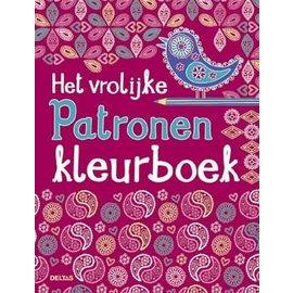 Boeken DT690736 - Het vrolijke patronen kleurboek