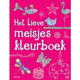 Boeken DT690738 - Het lieve meisjes kleurboek