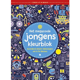 Boeken DT690764 - Het megacoole jongens kleurblok