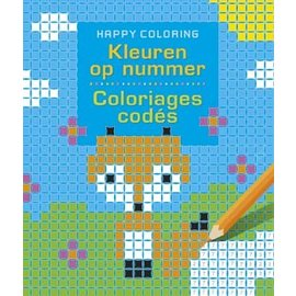 Boeken DT690995 - Kleuren op nummer - Happy Coloring