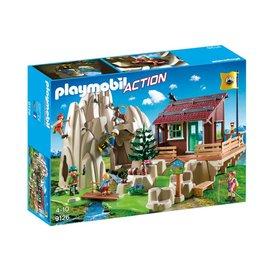 Playmobil pl9126 - Bergbeklimmers met berghut