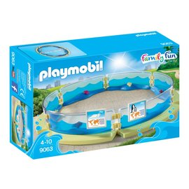 Playmobil pl9063 - Bassin voor zeedieren