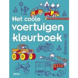 Boeken DT690734 - Het coole voertuigen kleurboek