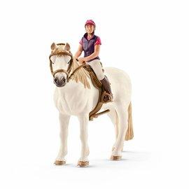 Schleich Amateur ruiter met paard - 42359