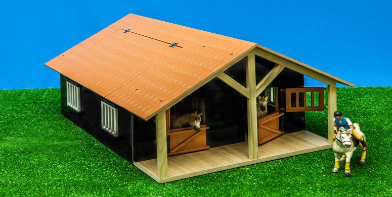 Verwonderend Paardenstal Kidsglobe 61067 voor Schleich - T-Toys Dirksland FO-33