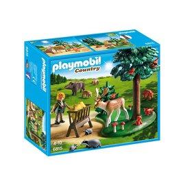 Playmobil pl6815 - Voederplaats voor bosdieren