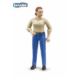Bruder BF60408 - Speelfiguur vrouw