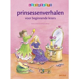 Boeken DT509004 -Leesfeest! Prinsessenverhalen voor beginnende lezers (6 jr)
