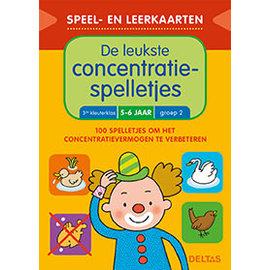 Boeken Speel- en leerkaarten - De leukste concentratiespelletjes (5-6 j.)