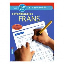 Boeken DT643078 - Tijd voor huiswerk - Oefenblaadjes Frans (10-11 jr)