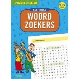 Boeken DT640718 - Puzzel je slim! - Leerrijke woordzoekers (9-10 jr)