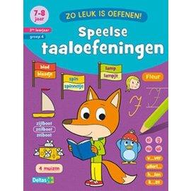 Boeken Zo leuk is oefenen - Speelse taaloefeningen