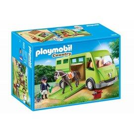 Playmobil pl6928 - Paardenvrachtwagen