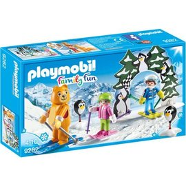 Playmobil pl9282 - Skischool