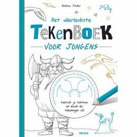 Boeken DT690680 - Het allerleukste tekenboek voor jongens