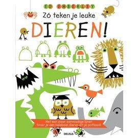 Boeken DT363210 - Zo teken je leuke dieren