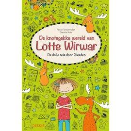 Boeken De knotsgekke wereld van Lotte Wirwar - De dolle reis door zweden