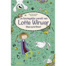 Boeken De knotsgekke wereld van Lotte Wirwar - Chaos op de filmset