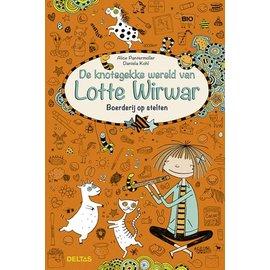 Boeken De knotsgekke wereld van Lotte Wirwar - Boerderij op stelten