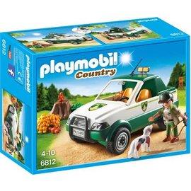 Playmobil pl6812 - Terreinwagen met boswachter