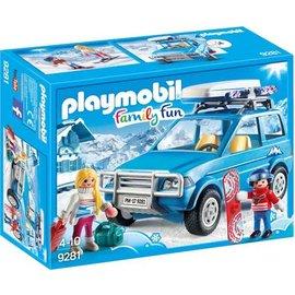 Playmobil pl9281 - 4x4 met dakkoffer