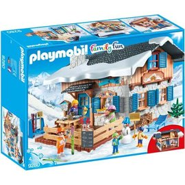 Playmobil pl9280 - Skihut