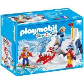 Playmobil pl9283 - Sneeuwballengevecht