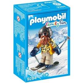 Playmobil pl9284 - Skiër op snowblades