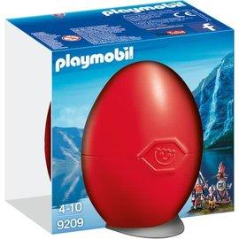 Playmobil pl9209 - Vikings met wapenrek in Ei
