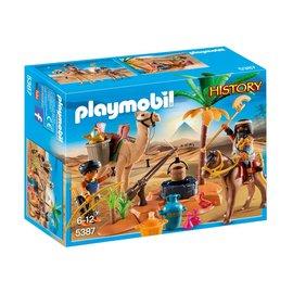 Playmobil pl5387 - Grafrovers met Egyptische schatten